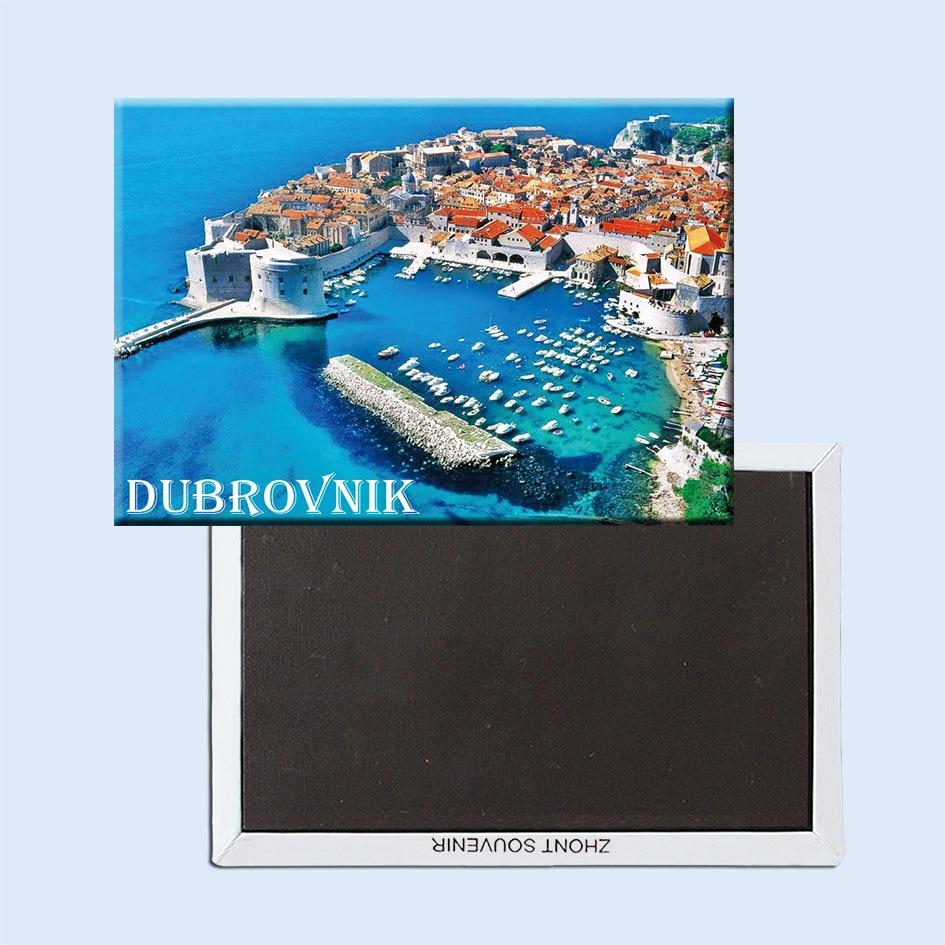 Dubrovnik Magneter 21508 ferie turist souvenir populære turister, kroatiske by på Adriaterhavet