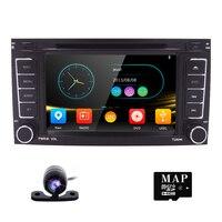 2DIN автомобильный DVD для Фольксваген Touareg T5 Multivan радио автомобиль зеркало с Навигатором GPS Link SWC RDS FM/AM BT игровой сабвуфер iPod CAM