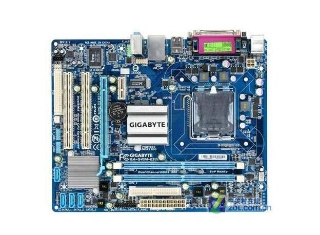 все цены на  Gigabyte GA-G41M-ES2L original desktop motherboard  LGA 775 DDR2 G41M-ES2L G41 Micro ATX board mainboard Free shipping  онлайн
