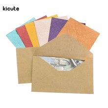 50Pcs Vintage Design Small Colored Blank Mini font b Paper b font Envelopes font b Wedding