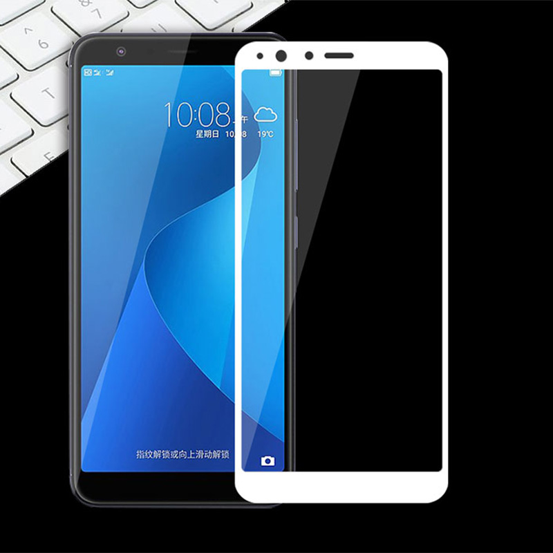 Full Cover Film For Asus Zenfone Max Plus M1 Screen Protector For Asus Zenfone Max Plus M1 ZB570TL X018D Tempered Glass HD Case