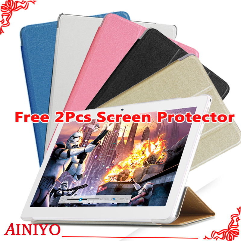 Case For <font><b>Teclast</b></font> <font><b>A10S</b></font> Protective Flip Cover Case For <font><b>Teclast</b></font> P10 4G/<font><b>A10S</b></font>/98 Octa Core Upgraded version+2 pcs <font><b>Screen</b></font> Film image