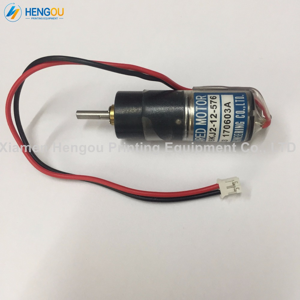 20 Pieces DHL Free Shipping Ink Key Motor TE16KJ2-12-576 For Ryobi Machine Offset 10 pieces dhl free shipping roybi ink key motor te16km 24 864 roybi printing machine parts te 16km 24 864
