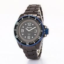 Caliente de La Manera Masculina Japón Quaztz Impermeable Deporte reloj HT3916 Neta Aleación Correa