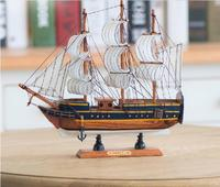 2015 Hot 3D Wool Sailboat Model Birthday Gifts Home Decoration Boat Crafts Free Shipping