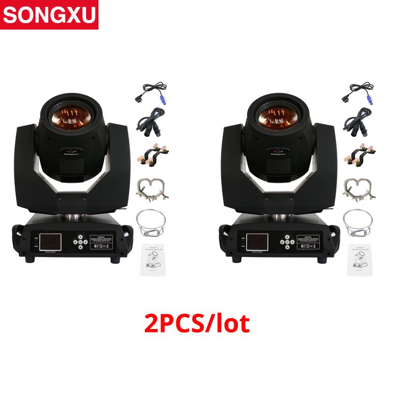 2pc A Lot Sharpy Lyre Beam 230W 7R Moving Head Light Touch Screen Beam Disco Light Ship From Germany USA/SX-MH230