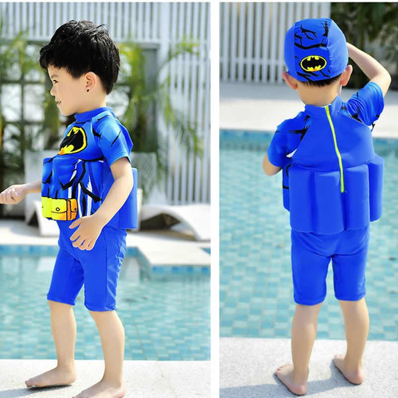 fd6a882e94f ... 1-6Y Summer Baby Girls Boys Safety Float Swimwear Bodysuit Kids Cartoon  Training One- ...