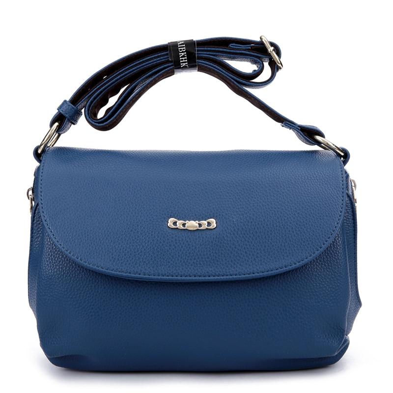 ФОТО Lady Style Women Messenger Bags Genuine Leather Women's Shoulder Bag Vintage Ladies Handbags Tralve Satchel Bag Evening Clutches