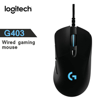 New Logitech G403 Gaming Mouse Wired RGB Game Mouse 12000 DPI  for Mouse Gamer Mice