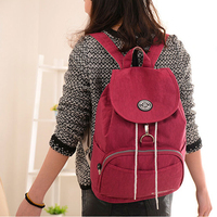 Women's Backpack Drawstring bag Waterproof Nylon 10 Colors Lady Women's Backpacks Female Casual Travel bag Bags mochila 511