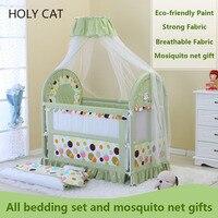 Holycat многоцелевой защиты окружающей среды детей колыбели новорожденных кровать с москитной сеткой