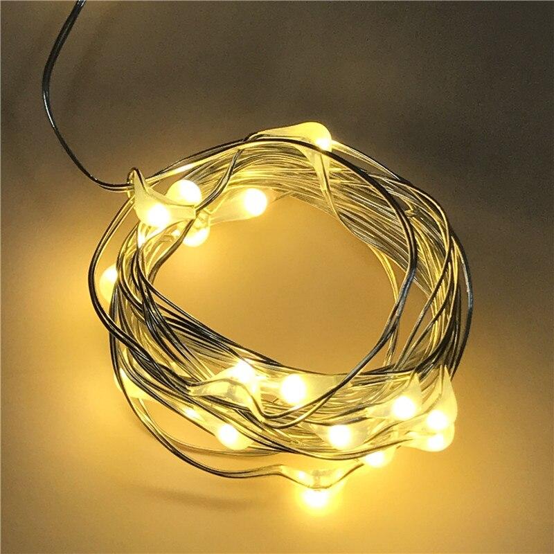 Super Promo 1538 20 Leds Christmas Lights Indoor 2m String