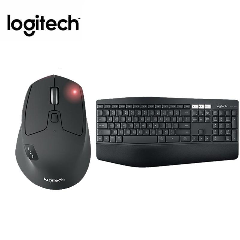 Logitech MK850 Sans Fil Clavier Souris Cambo, Bluetooth Unificateur Souris et clavier set avec Flux Fonction, Multi-écran interrupteur
