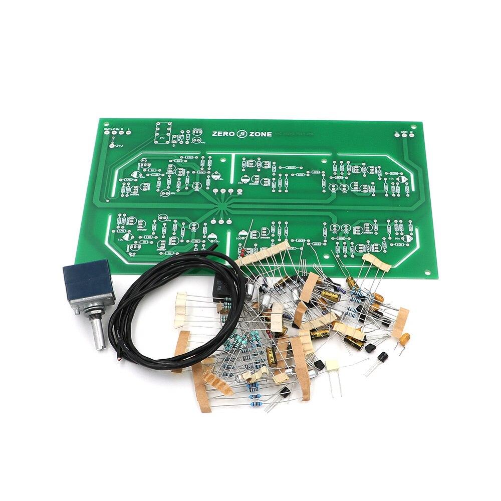 GZLOZONE Clone NAIM NAC152XS Preamplifier Kit DIY HIFI Preamp Kit ALPS Pot