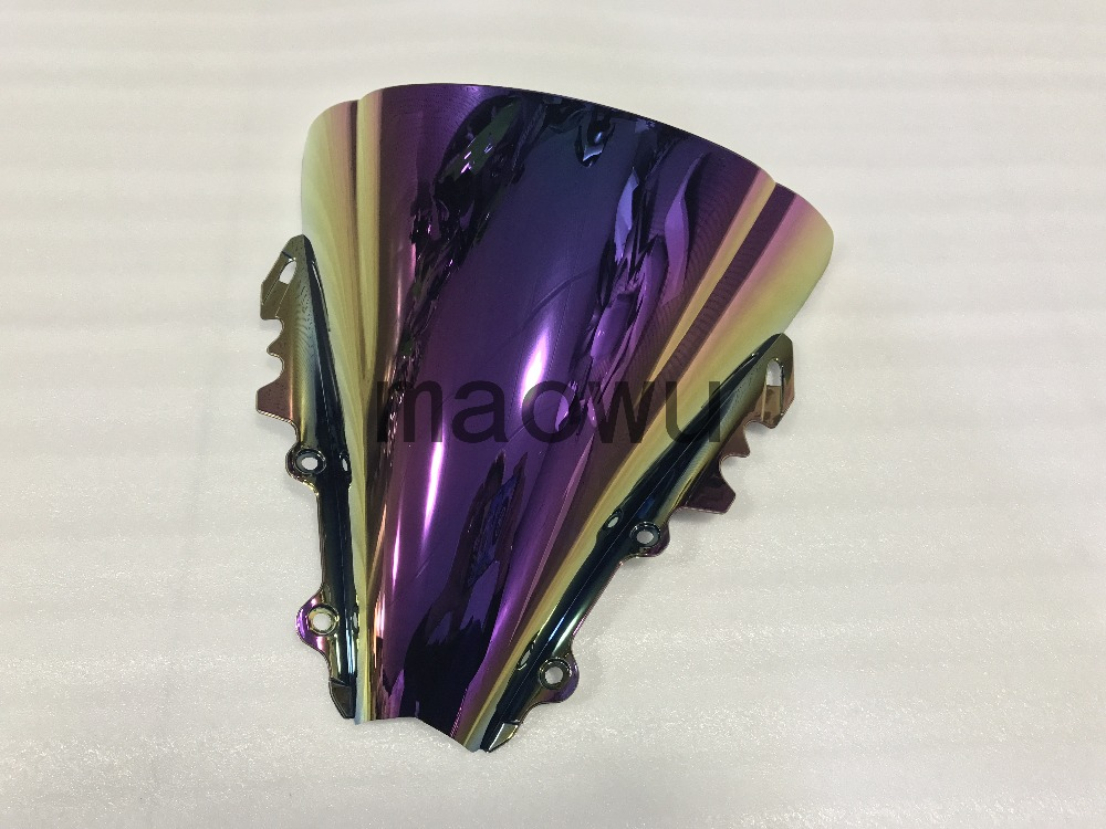 Motorcycle high quality ABS rear fender modified parts Fairing color windshield fit for yamaha r6 2006-2007year .