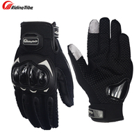 Riding Tribe Motorcycle Wear Drop Resistant Racing Gloves Motorbike Breathable Mesh Fabric Cycling Gloves Moto Luvas