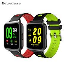 Betreasure BW17 NEW Smart Watch Color Screen Bluetooth Heart Rate Monitor Fitness Tracker Waterproof Sport font