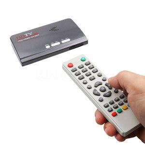 Image 2 - ТВ тюнер Kebidumei DVB T/DVB T2 ТВ приставка VGA AV CVBS 1080P HDMI Цифровой HD спутниковый ресивер с пультом дистанционного управления