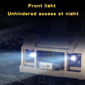 Image 4 - MN 96 rsov 1/12 2.4g 4wd 크롤러 rc 자동차 원격 제어 지프 led 빛