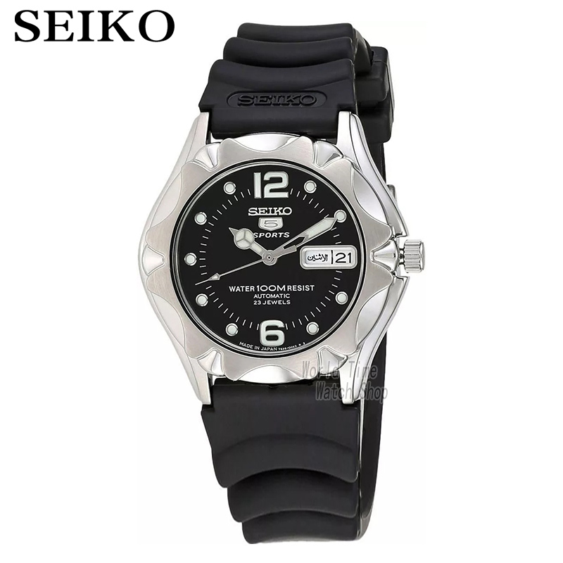 Seiko Watch automatic mechanical  Dive Black Dial Mens Watch SNZ449J2 SNZ453J2 SNZ462J1 SRP675J1 ultra luxury 2 3 5 modes german motor watch winder white color wooden black pu leater inside automatic watch winder