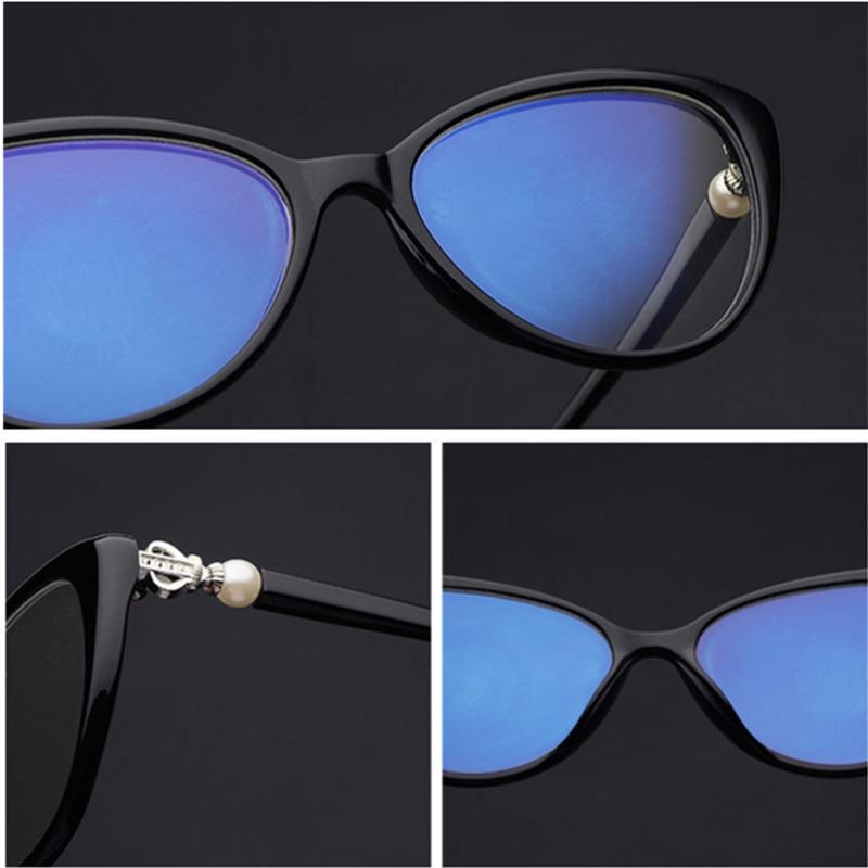 5dbe2b0ec5 YOOSKE Women Cat Eye Reading Glasses Fashion Elegant Hyperopia Prescription  Glasses Ultra Light Blue Film Resin Reading Glasses-in Reading Glasses from  ...