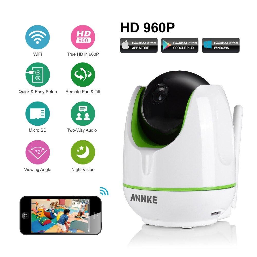 imágenes para ANNKE HD Cámara IP Inalámbrica Wifi 960 P Inteligente IR-Cut Visión Nocturna P2P Baby Monitor de Vigilancia Onvif Red CCTV Cámara de Seguridad