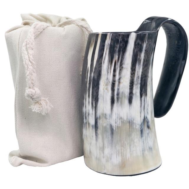 Viking Ox Horn Drinking Coffee Mug Beer Mug