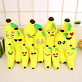 New Creative Plush Banana Pillow Cartoon Lumbar Pillow Doll Gift Home Decor Plush Banana Cushion Soft Stuffed Toy Birthday Gift