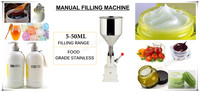 Free Shipping Best Price High Quality NEW A03 Manual Cream Paste Soap Juice Honey Filling Machine