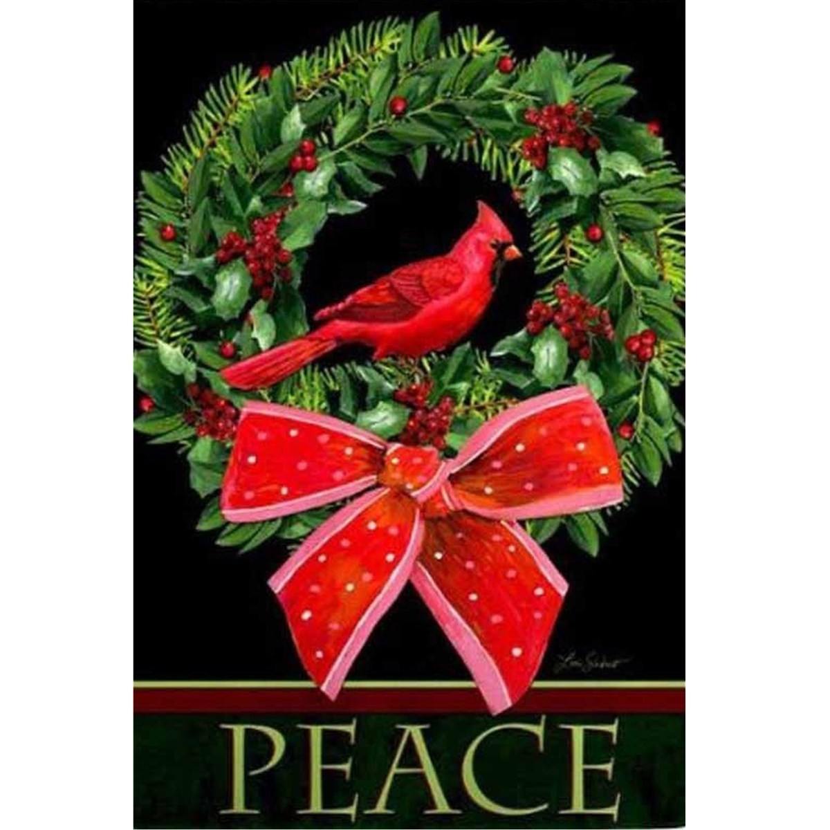 christmas garden flags. 30.5x44CM Christmas House Garden Flag Cardinal Wreath Banner Accessories Xmas Party Decorative Tools Gadgets Yard Ornament-in Flags, Banners \u0026 Flags E