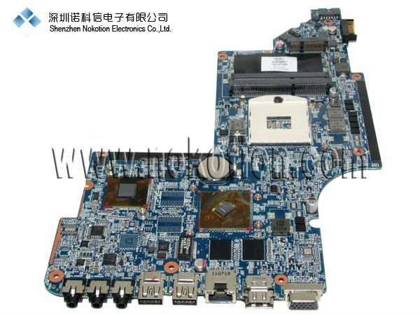 NOKOTION 659147-001 For HP DV6-6000 Laptop motherboard INTEL DDR3 with Graphic card mainboard 574680 001 1gb system board fit hp pavilion dv7 3089nr dv7 3000 series notebook pc motherboard 100% working