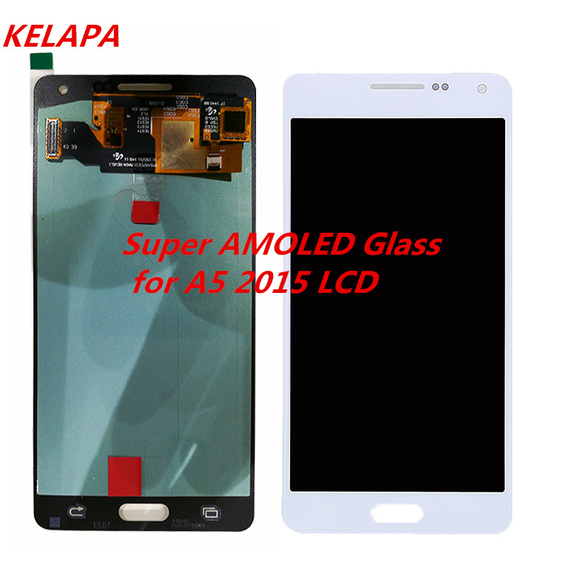 A5 Super Amoled LCD Compatible For Samsung Galaxy A5 2015 LCD A500F A500M A500H A500FU Display Assembly ReplacementA5 Super Amoled LCD Compatible For Samsung Galaxy A5 2015 LCD A500F A500M A500H A500FU Display Assembly Replacement