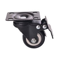 2 Inch 9201 50 Furniture Casters Universal Wheel Silencing Wheel With Brake Air Box Wheels CP373