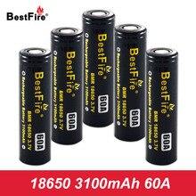 18650 Battery 3.7V Li-ion Rechargeable Battery 3100mAh 60A for SMOK Alien 220W Mag Kit X Priv I Priv G Priv 2 Box Mod Kit A047