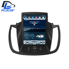 32 г rom вертикальный экран android автомобильный gps мультимедийный видео радио плеер в тире для ford kuga 2013-2016 лет автомобиль navigaton