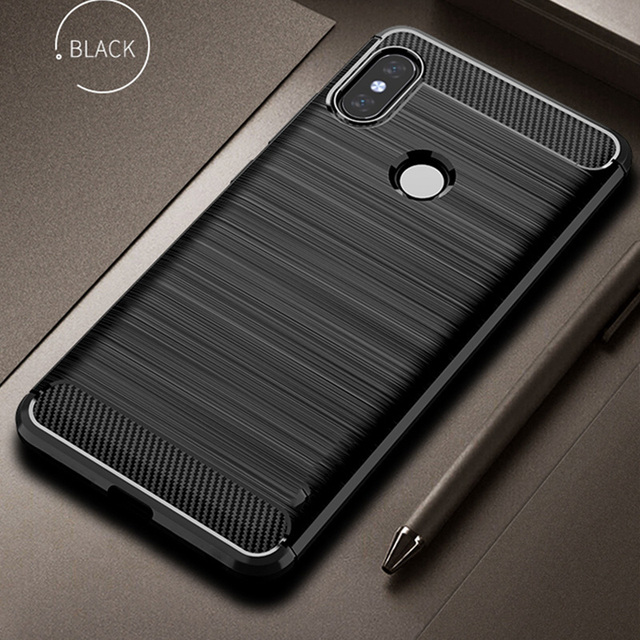 outlet store b2093 ddf3f For Xiaomi Mi A2 Lite Case For Mi A2 Lite Cover Silicone Armor Bumper Back  Rugged Case For Xiaomi Redmi 6 Pro Soft TPU Fundas