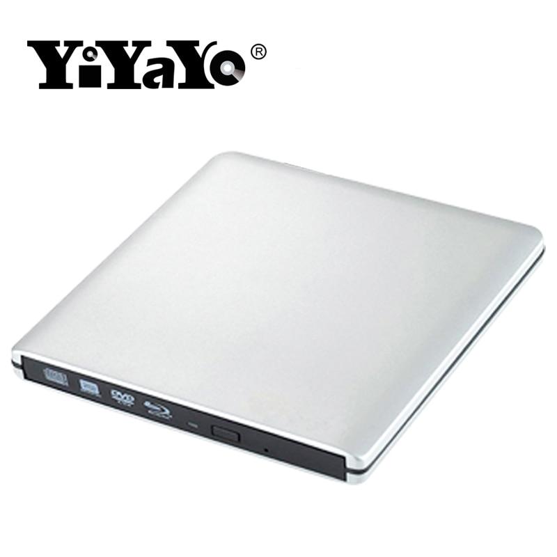 YiYaYo Blu-ray pleyeri Xarici USB3.0 DVD / BD-RW burner CD / DVD / - Kompüter hissələri - Fotoqrafiya 4