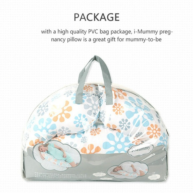 Maternity Support Pillow Full Body Pregnant Side Sleeper Washable Cover