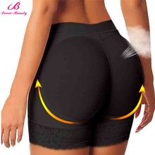 2016 Black Lace Butt Lifter Shaper Short Plus Size 3XL Shapewear Women Lift Waist Trainers With Tummy Control