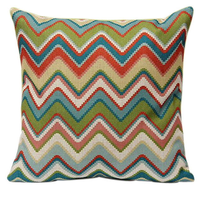 New Listing Home Car Bed Decorative Colorful Pillow Case Cushion