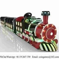 The Newest No Track Outdoor Amusement Park Equipment Kids Electric Train Kiddie Rides For Sale