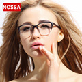 NOSSA Fashion Designer Clear Lens Eyewear Frame Women's Elegant TR90 Glasses Frames Clear Lens Eyeglasses Students Optical Frame