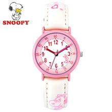 Snoopy Kids Watch Children Watch Casual Fashion Cute Quartz Wristwatches Girls Clock