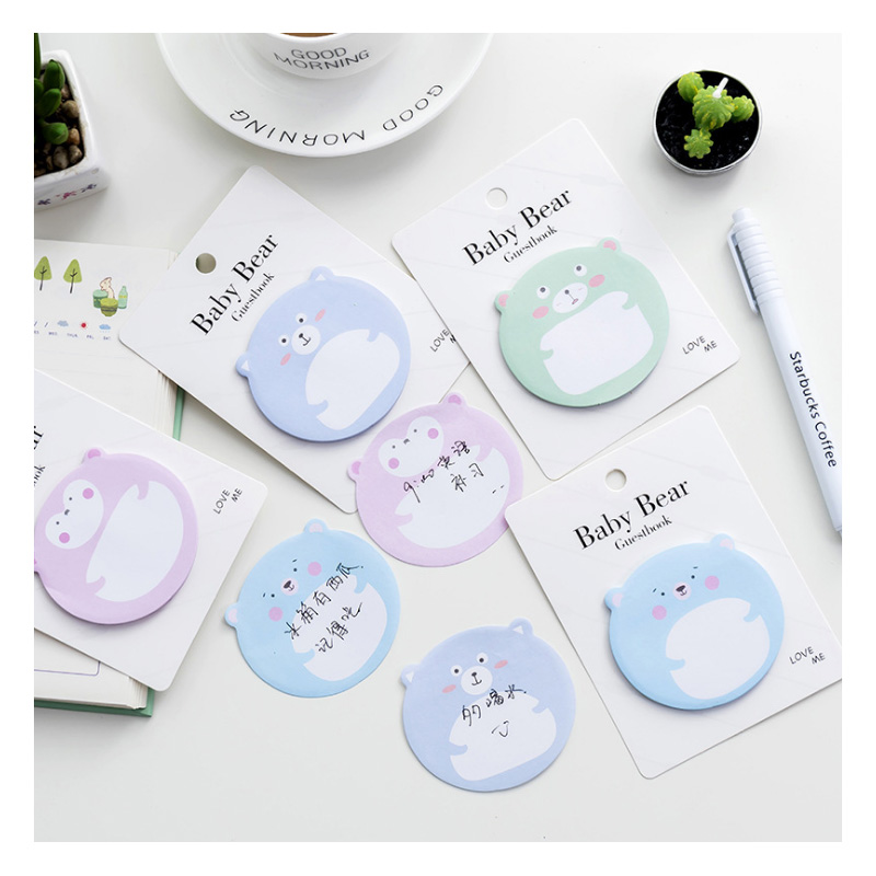 12pcs Sticky Note Papelaria Kawaii Notas Adhesivas Cute Post It Nota De Papel Haftmarker Notluk  Stickers Memo Office Decor