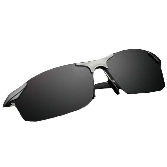 Nuevo 2016 hombres de la Manera gafas de Sol gafas de Sol Polarzied Mens Deportes Al Aire Libre Gafas de Espejo de Conducción Gafas