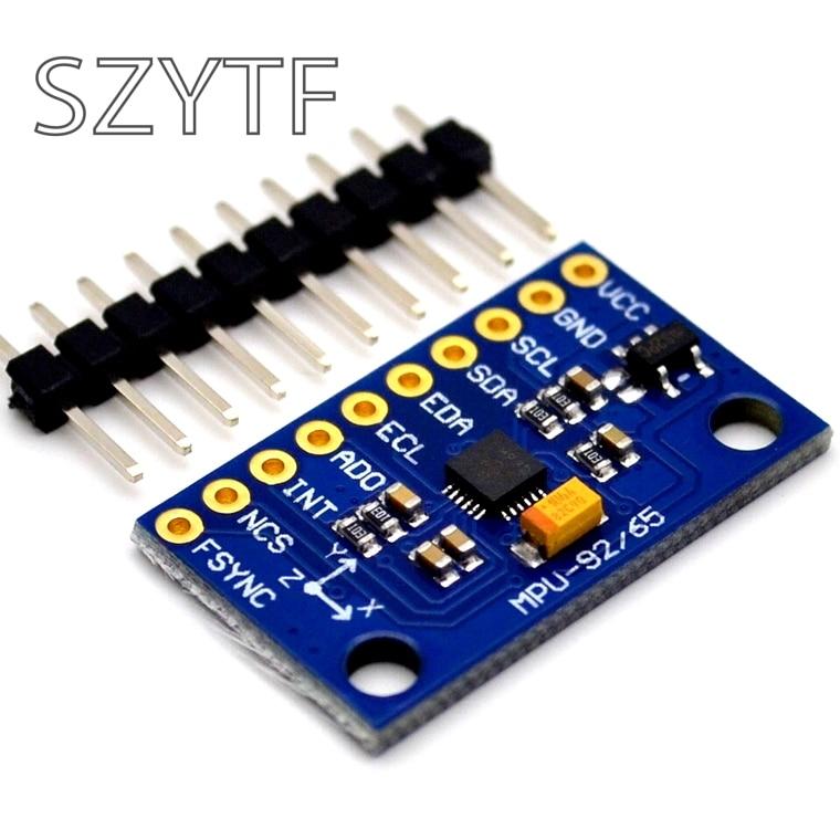 SPI/IIC GY-9250 MPU 9250 MPU-9250 9-Axis Attitude +Gyro+Accelerator+Magnetometer Sensor Module MPU9250