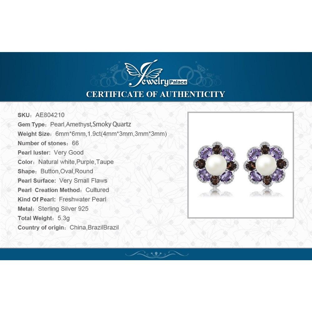 1c13d22f3a2e JewelryPalace promoción 2.3ct boda anillo puro de la plata esterlina 925  joyería fina anillo marrón