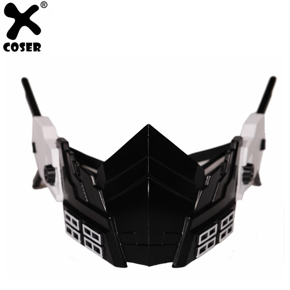 XCOSER My Hero Academia Hitoshi Shinso Mask Resin Anime Cosplay High Quality Resin Mask Halloween Cosplay Prop For Men