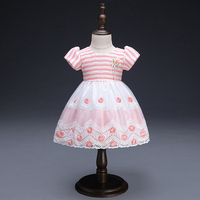 Girl Dress Baby Children Clothing Wedding Party Girls Dresses First Birthday Clothes Newborn Princess Infant Dress