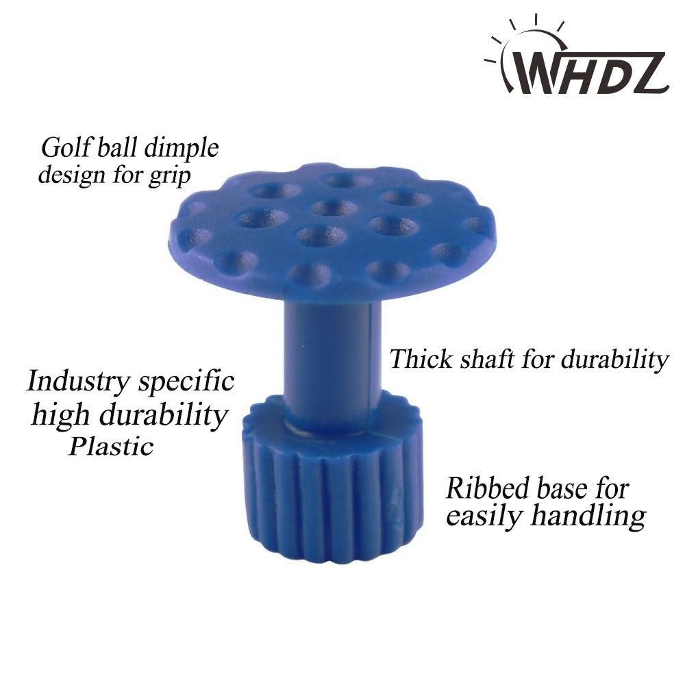 27pcs Glue Pulling Tabs PDR Glue Tabs Auto Body Dent Repair Tool Pulling Tabs Car Dent Removal Body Repair Kit (3)